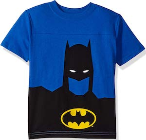 Kids Batman Black And Blue T-Shirt