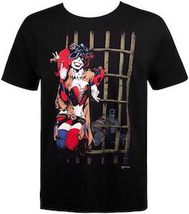 Harley Quinn Locks Up Batman T-Shirt