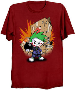 Calvin As The Joker T-Shirt