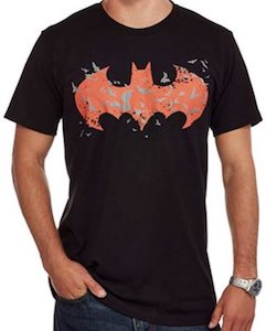 Glow In The Dark Batman Logo T-Shirt