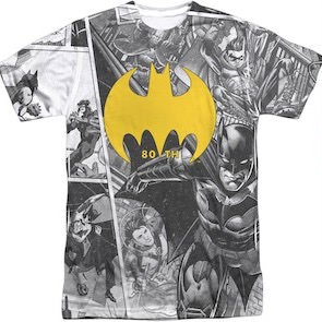 80 Years Of Batman T-Shirt