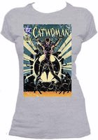 Catwoman Comic Book Cover T-Shirt