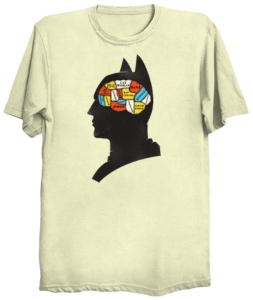 Batman Brain Functions T-Shirt