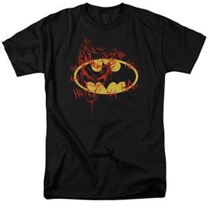 Batman Logo Joker Graffiti T-Shirt