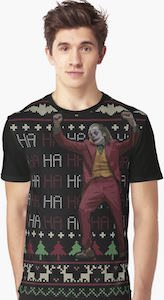 Haha Christmas Joker T-Shirt