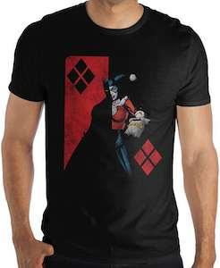 Harley Quinn And Batman T-Shirt