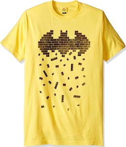 LEGO Bricks Batman Logo T-Shirt