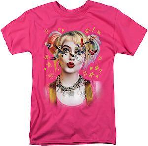 Pink Birds Of Prey Harley Quinn T-Shirt