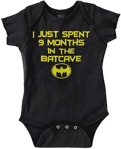 I Spend 9 Months In The Batcave Baby Bodysuit