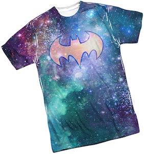 Galaxy Batman Logo T-Shirt