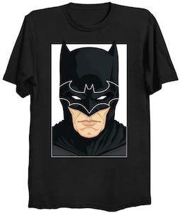 The Head Of Batman With Logo T-Shirt