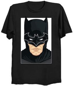 The Head Of Batman With Logo T-Shirt