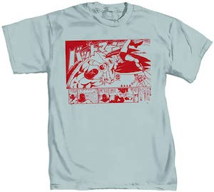 Batman Manga Style T-Shirt