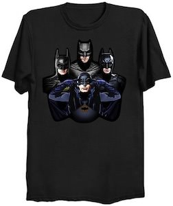 4 Time Batman T-Shirt