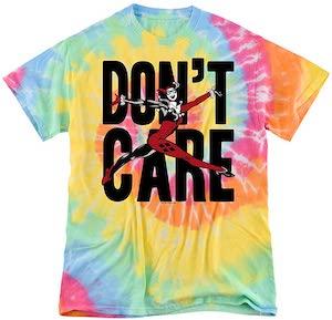 Harley Quinn Don't Care T-Shirt