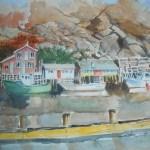 Fishing Village in Newfoundland