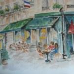 Cafe' en Plein Aire
