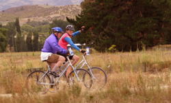 Otago rail trail on our NZ biking holidays - Great Bike Tours