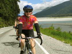 A gorgeous bike ride on our New Zealand bicycle tours - Great Bike Tours