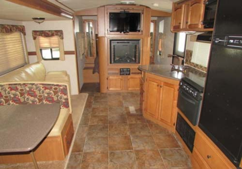 2012 Sunset Trail 26BH 30 Travel Trailer  Great Blue