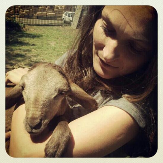 Beatrix du Toit loves animals