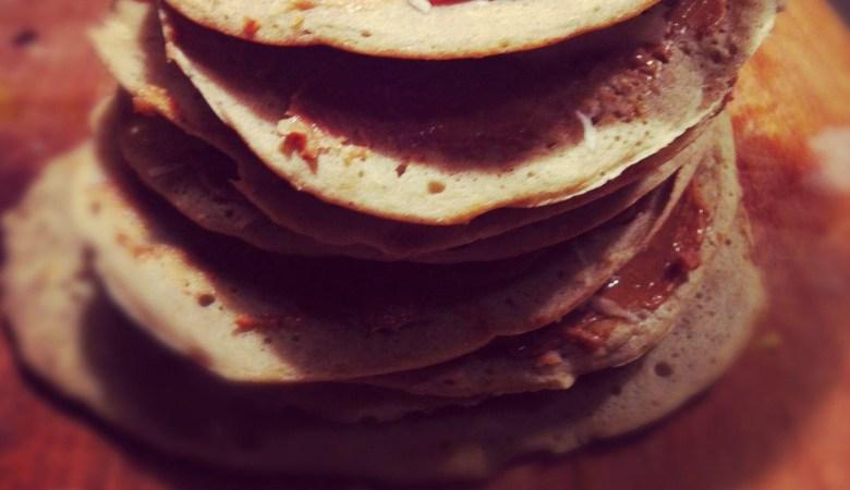 Gluten free skinny American pancakes