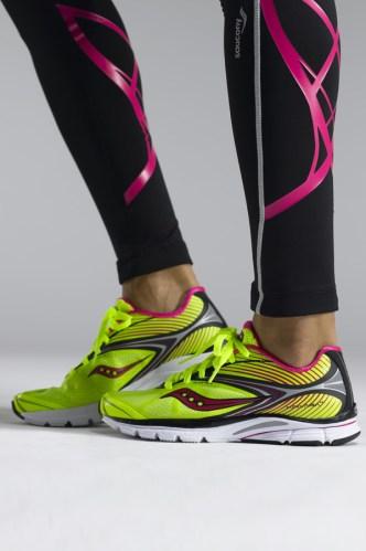 Kinvara 4 mimics barefoot running - in style!