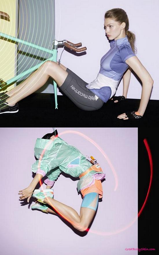 adidas by Stella McCartney Spring Summer 2015.   Sport