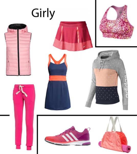 Girly running apparel spring/summer 2014