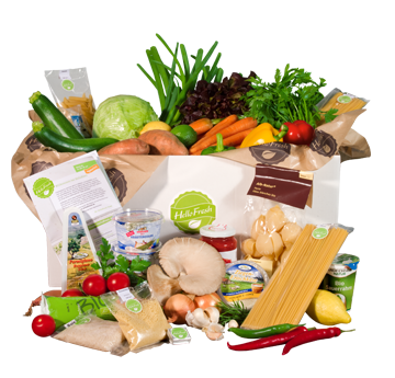 hello Fresh vegetarian home delivery