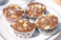 Peanut Butter Chocolate Cupcakes in Wonderland