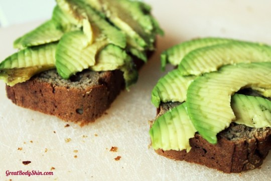 Lower carb, gluten-free courgette bread