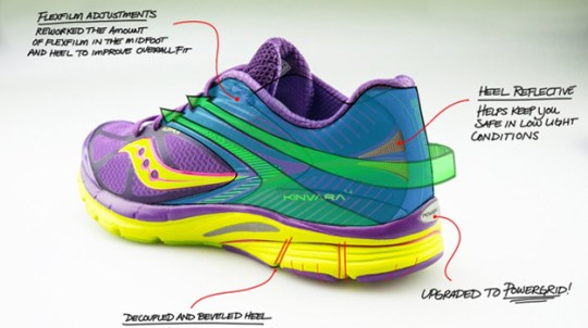 Kinvara 4 women's running shoes