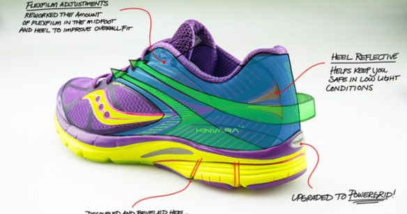 best sneakers b65ba fe06e Sneak peek at the colorful Kinvara 4 women's natural running ...