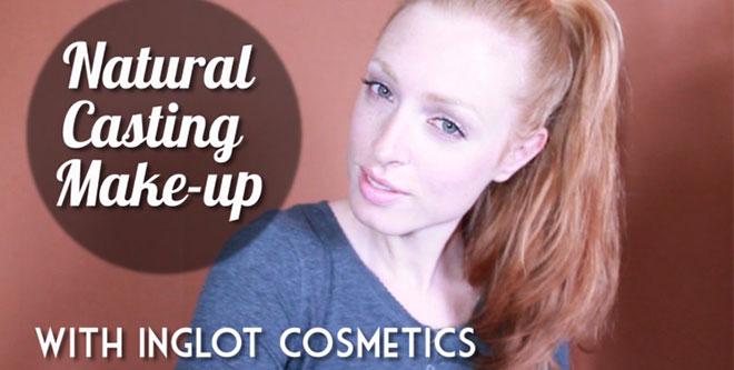 Natural Casting Make-up Tutorial for Models | Inglot Cosmetics