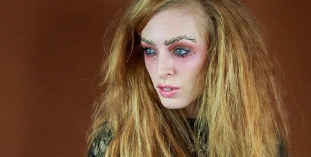 Yohji Yamamoto inspired Halloween makeup tutorial