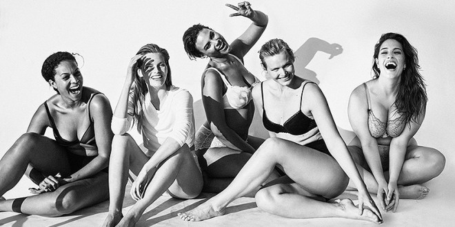 Plussize Modellen in Straightsize Fashion