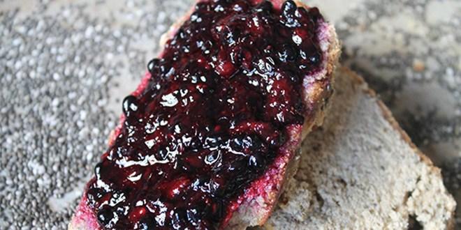 chia blackberry jam
