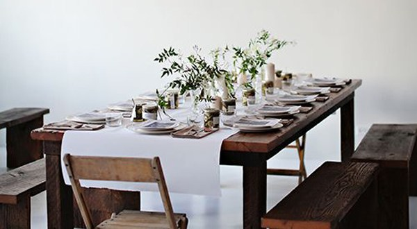 christmas dinner table settings inspiration
