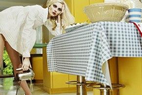 Miles Aldridge Model: Caroline Trentini Vogue Italia Beauty March 2008