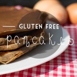 Buckwheat Pancakes { Guten & Lactose Free }