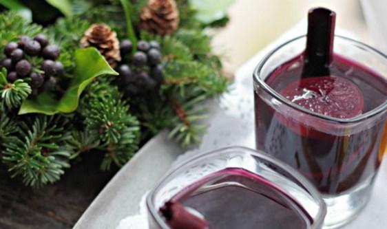 healthier glühwein (mulled wine)