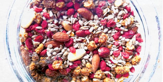 home made raw cereals