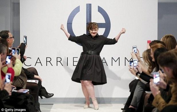 jamie beuer at new york fashion week