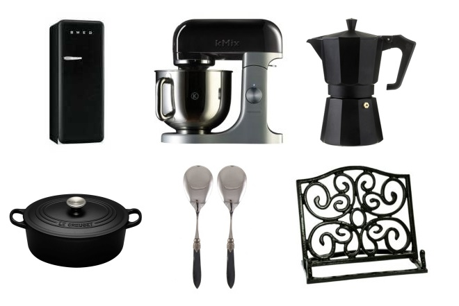shopping sunday black kitchen items for fitgirls and foodies