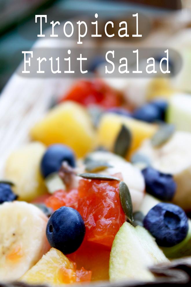 tropical fruitt salad