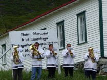 Our welcome in Nain