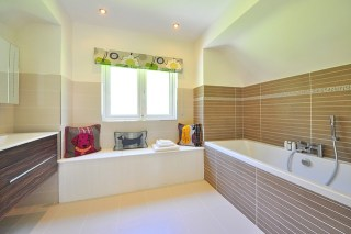How To Use A Steam Cleaner In The Bathroom And Shower Walls - What to use to clean bathroom walls