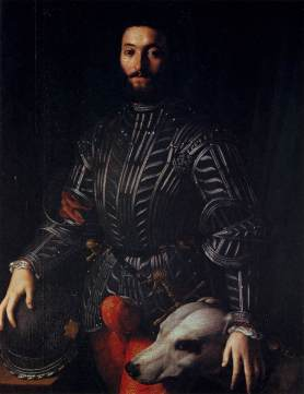 by Angolo di Cosimo (Bronzino) 1545