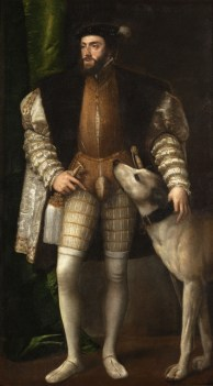 Charles V by Titian (1533)